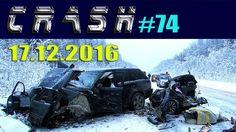 Жесткие ДТП и Аварии Hard Crash #74 Декабрь 2016    CRASH
