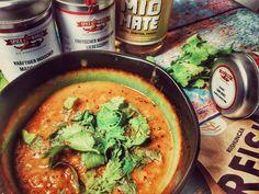 indische Linsensuppe vegan Vegan Recipes, Vegan Food, Food Design, Gnocchi, Thai Red Curry, Dining, Cooking, Healthy, Ethnic Recipes