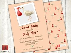 Baby Shower Cards, Baby Shower Invitations, Shower Inspiration, Lets Celebrate, Having A Baby, Rsvp, Unique Jewelry, Awesome, Handmade Gifts
