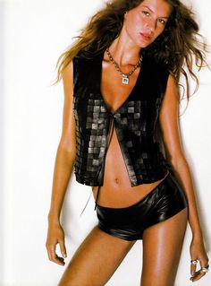 Gisele Bundchen | Photography by Herb Ritts | For Vogue Magazine France | November 1999