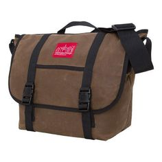 Manhat Portage Waxed Canvas Messenger Bag Field