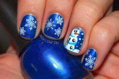 Cute Snowman Nail Designs To Copy This Winter