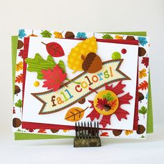 Fall Colors by Kathy Martin for #Doodlebug using Happy Harvest