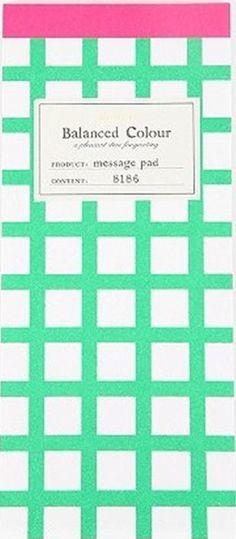 Plaid Message Pad