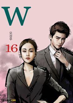 W (더블유) — MANHWA 16 W Two Worlds Art, Between Two Worlds, W Kdrama, Best Kdrama, W Korean Drama, Korean Drama Quotes, Lee Jong Suk Cute, Lee Jung Suk, Lee Jong Suk Doctor Stranger