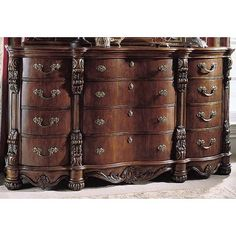 Pulaski Edwardian 12 Drawer Dresser   Wayfair