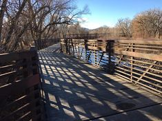 My wife and I went for a walk over the weekend and stumbled upon what I believe is the coolest bridge in Fort Collins. We got a couple photos you should see. Fort Collins, Trail, Bridge, Deck, Couple Photos, Outdoor Decor, Couple Shots, Bridge Pattern, Front Porches