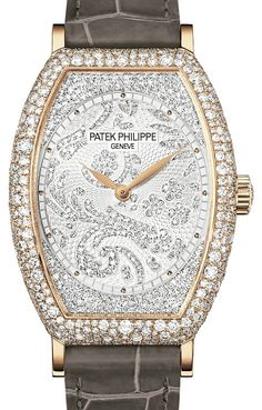 Patek Philippe Ladies Gondolo Rose Gold Diamond Watch