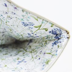 The view inside our Meadow Clutch.