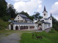 Česko, Zlaté Hory - Poutní kostel P.Marie Pomocné