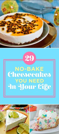 13 No-Bake Cheesecakes You Need In Your Life