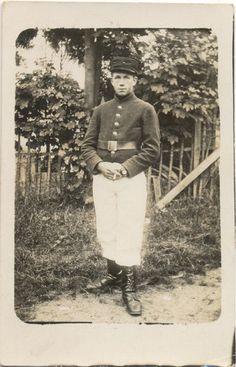 ijzervlakte: Ieperling Henri Blondeel infanteriesoldaat