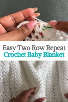 Crochet For Beginners Blanket, Baby Blanket Crochet, Baby Afghans, Crochet Blankets, Baby Blankets, Baby Blanket Knitting Patterns, Crochet For Kids, Easy Crochet, Knit Crochet