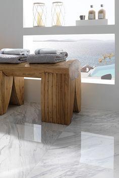 Tendencias en interiorismo 2015: elegancia clásica con pavimentos y…