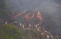 Parque Nacional Volcan de Pacaya.