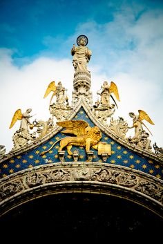 Lion of St. Mark Basilica, Italy