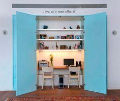hidden home office