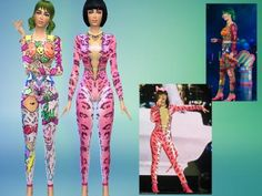 Katy's prismatic outfits (Birthday & Hot n Cold) | fansitesims.com