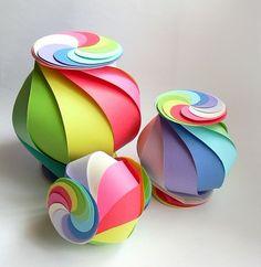 Origami Maniacs: Ten-Sided Yin Yang Globe By Oschene (Philip Chapman-Bell)