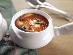 Chorizo & kale soup. This was an easy, tasty soup. Loved the little spice from the chorizo and it made for super tasty leftovers--will definitely make again.