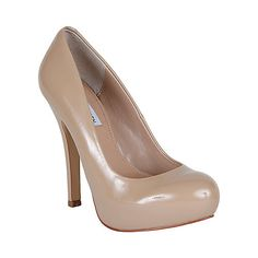 Steve Madden Traisie pumps. A tad more demure than the Russhh but still have plenty of attitude, they are another fabulous nude shoe.