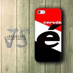 Cervelo Bike Stripe Red Black iPhone Case 4 5 6 Plus