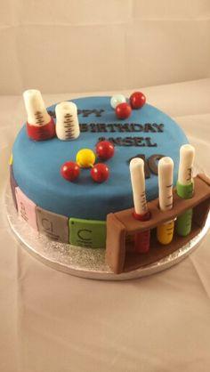Chemistry Birthday Cake