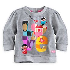 ''it's a small world'' Sweatshirt for Baby