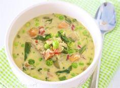Thailandsk grønnsakssuppe med røde linser | Elin LarsenElin Larsen