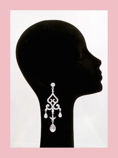 MJS Wedding 2015 earrings.