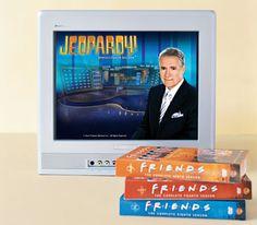 Watch a Rerun of Friends or an Episode of Jeopardy!?