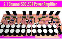 How to Create 1000 Watt Power Amplifier - Electronic Circuit Hifi Amplifier, Subwoofer Speaker, Class D Amplifier, Powered Subwoofer, Home Theater Amplifier, Power Supply Circuit, Audio Installation, Electronic Circuit, Circuit Diagram