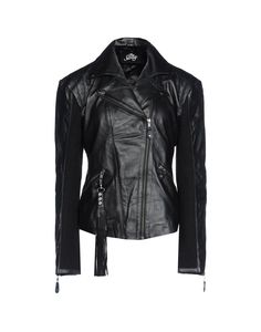 THE SWAY Jacket: The Sway accessories bestow an irresistible New York rock'n'roll charm on recycled excess leather. In order to guarantee minimal environmental impact, the production of their accessories favours alternative energy sources and recycled packaging materials, $779.00 #masterandmuse #ambervalletta #yoox