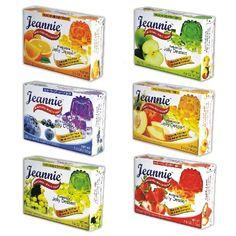 Jeannie Prebiotics 100% No Animal Content Gelatin-free Dessert [High Fiber & Vitamin C], Assorted Flavor, 3.6oz Boxes (Pack of 12) Jeannie,http://www.amazon.com/dp/B004LKDDXQ/ref=cm_sw_r_pi_dp_wBbqtb1PHRZKEGQQ