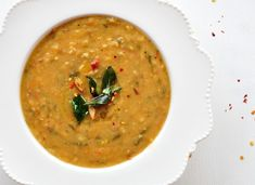 Andhra Style Pappu Charu Recipe (Lentil Soup Style Curry)