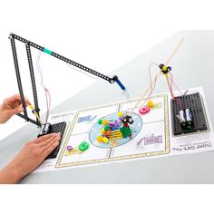 """A real """"pick-me-up"""", the TeacherGeek electromagnetic crane is a classic activity with a green twist – engineer and construct a crane design to inno P's Of Marketing, Engineering Design Process, Crane Design, Teaching Science, Teaching Ideas, Word Sorts, Simple Machines, Electronic Engineering, Science Fair Projects"""