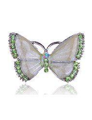 butterfly peridot