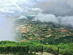 View from Nandi Hills, Bangalore, India Nandi Hills, Bangalore India, India Travel, Incredible India, Niagara Falls, The Incredibles, River, Places, Outdoor