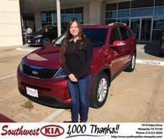 https://flic.kr/p/Gv384W | #HappyBirthday to Michelle from JERRY TONUBBEE at Southwest Kia Mesquite! | deliverymaxx.com/DealerReviews.aspx?DealerCode=VNDX