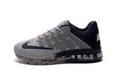 2016 Hommes Nike Air Max 2016 Chaussures Gris noir