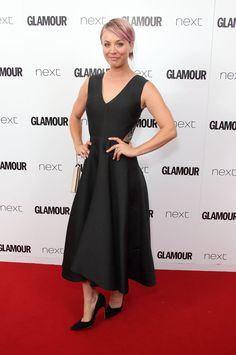 Pin for Later: Seht alle Stars auf dem roten Teppich bei den Glamour Awards! Kaley Cuoco-Sweeting