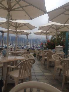Breakfast by the docks, Santa Barbara