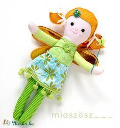 Alma ZsebTündérke - marokba való, öltöztethető textilbaba , Játék…