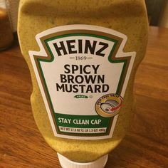 A challenger appears! Always loved spicy brown mustard. Why hadn't this been in my kitchen in ages?! ---------- On a #cut dropping pounds at 2000 calories a day after doing a #reverseDiet. Formerly #keto and still often eat #lowCarb foods. Always #iifym and #flexibleDieting. ---------- #bulking #reverseDiet #fitness #fitfam #youtube #mustardCoveredBacon by mustardcoveredbacon