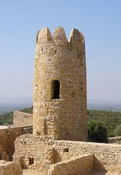 Castillo de Ulldecona - Prov. Tarragona, España