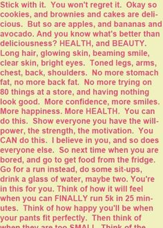 Stick with it! Happy & Healthy #fitness