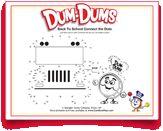 Help the #DumDums Drum Man find his #school #bus in this #free #printable. Download more seasonal printable activities at DumDumPops.com! Coloring Pages, Connect The Dots, Drum, Free Printable, Activities For Kids, Printables, School, Quote Coloring Pages, Children Activities