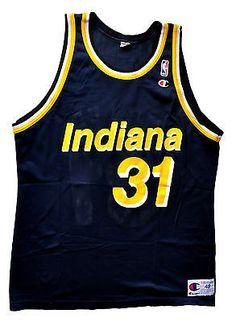 512c3384513 Reggie Miller Indiana Pacers Replica Jersey - 48 XL