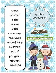 Word of the Day Winter...Made For 1st Grade.  Have it and LOVE it!!