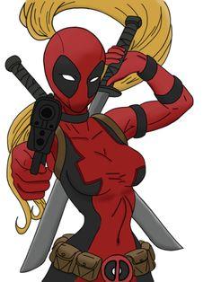 #Lady #Deadpool #Fan #Art. (Lady Deadpool) By:Lizzydripping04. ÅWESOMENESS!!!™ ÅÅÅ+   https://s-media-cache-ak0.pinimg.com/474x/8e/1e/df/8e1edf7df948afe2fa34233333b7a76f.jpg